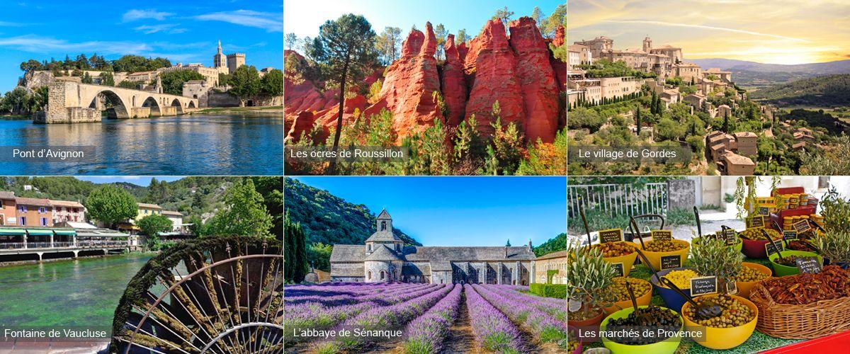 Tourisme et activité en Provence